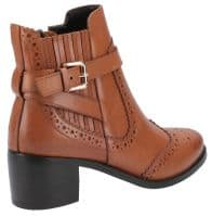 Hush Puppies Rayleigh Ladies Ankle Boots Tan